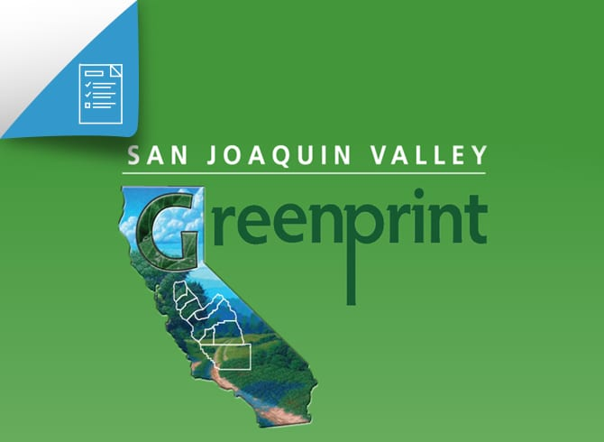 San Joaquin Valley Greenprint