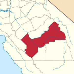 Fresno County Political Districts Map