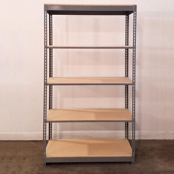 bolt-less shelving