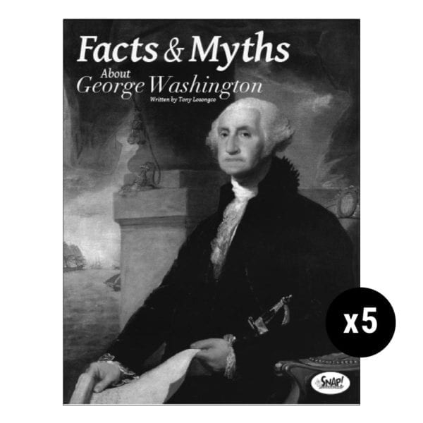 Facts and Myths About George Washington 5-Pack