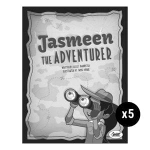 Jasmeen the Adventurer 5-Pack