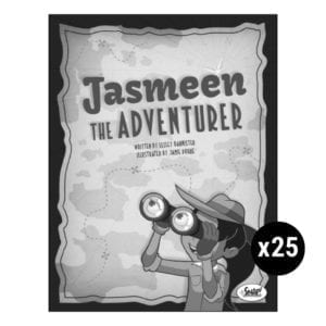 Jasmeen the Adventurer Set