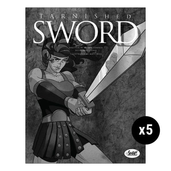 Tarnished Sword 5 Pack