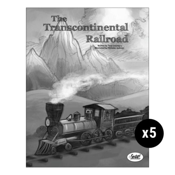 The Transcontinental Railroad 5-Pack